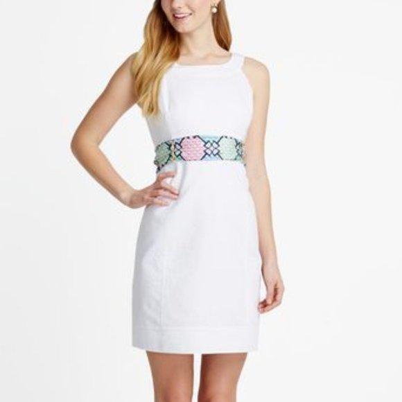 RARE! VineyardVines Kentucky Derby Sash Dress
